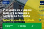 E-Flyer informing about 1st Brazilian Diaspora Meeting in Germany