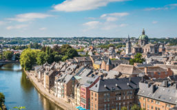 View of the picturesque city of Namur