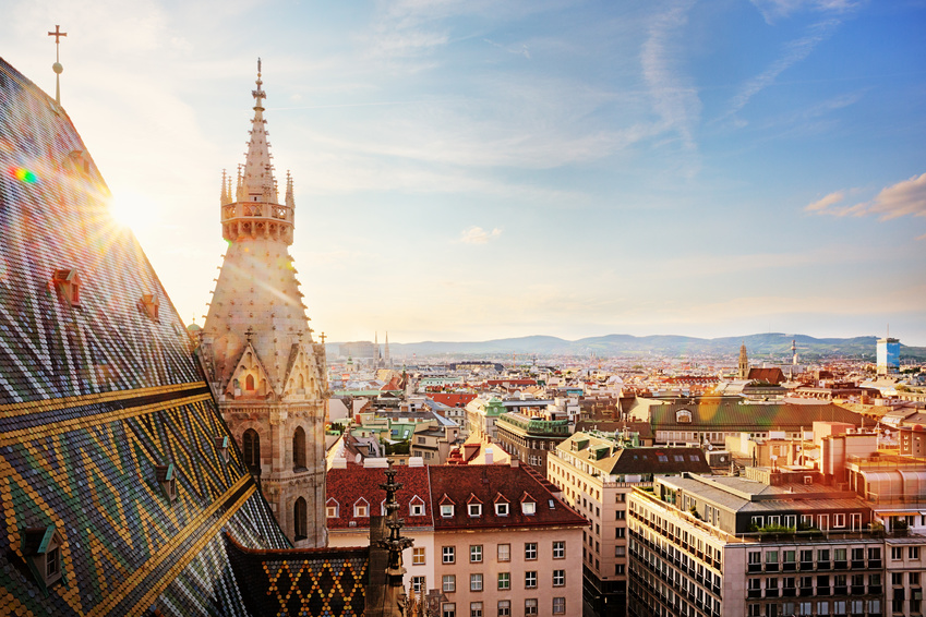 View over the rooftops of Vienna. It is home to the Austrian Funding Organisation FFG, which has been a member of the CORNET network since the very beginning.